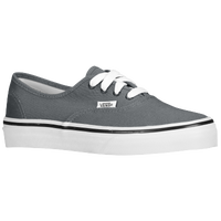 Vans Authentic - Boys' Preschool - Grey / White