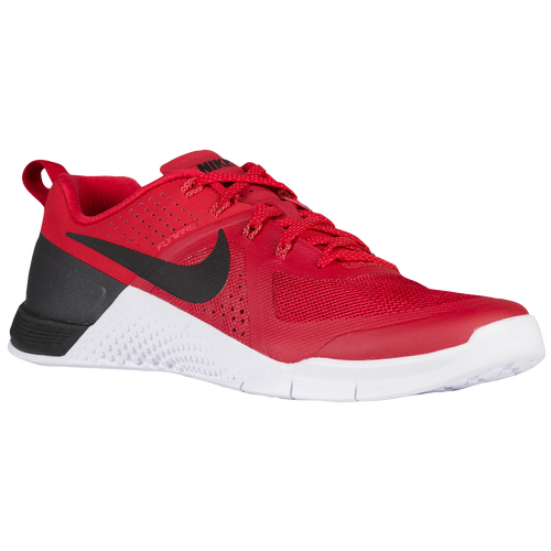 nike metcon 1 men 39 s training shoes gym red bright crimson white black. Black Bedroom Furniture Sets. Home Design Ideas
