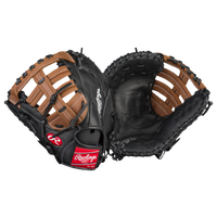 Rawlings Mark of a Pro 1st Base Mitt - Men's - Black / Brown