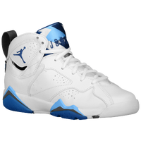 Jordan Retro 7 - Boys' Grade School - White / Blue