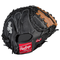 Rawlings Mark of a Pro Pro Taper Catcher's Mitt - Men's - Black / Brown