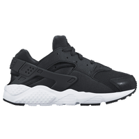Nike Huarache Run - Boys' Preschool - Black / White
