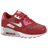 Nike Air Max 90 - Girls' Preschool - Red / Pink