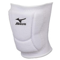 Mizuno LR6 Kneepads - All White / White