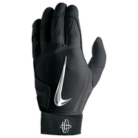 Nike Huarache Elite Batting Gloves - Men's - Black / Silver