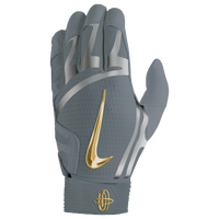 Nike Huarache Elite Batting Gloves - Men's - Grey / Silver