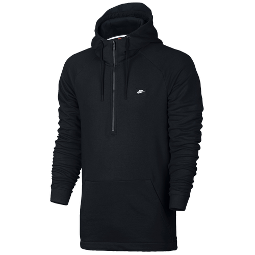 Nike Modern Half Zip Hoodie - Men's - Casual - Clothing - Black