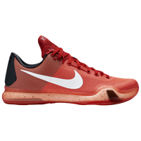 Nike Kobe X - Men's -  Kobe Bryant - Red / White