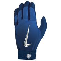 Nike Huarache Elite Batting Gloves - Men's - Navy / Silver