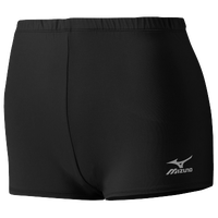 Mizuno Team Core Low Rider Shorts - Women's - All Black / Black