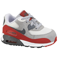 Nike Air Max 90 - Boys' Toddler - Grey / Red