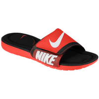 Nike Solarsoft Comfort Slide - Men's - Red / Black