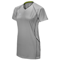 Mizuno Team Elite Newport Short Sleeve Jersey - Women's - Grey / Grey