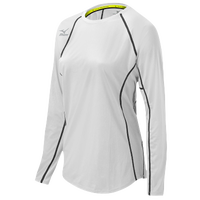 Mizuno Team Core Balboa Longsleeve Jersey - Women's - White / Black