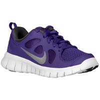 Nike Free 5.0 - Boys' Preschool - Purple / Grey