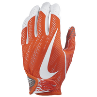 Nike Vapor Knit 2 Football Gloves - Men's - Orange / White