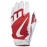Nike Vapor Jet 4.0 Football Gloves - Men's - White / Red