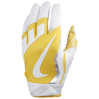 Nike Vapor Jet 4.0 Football Gloves - Men's - White / Yellow