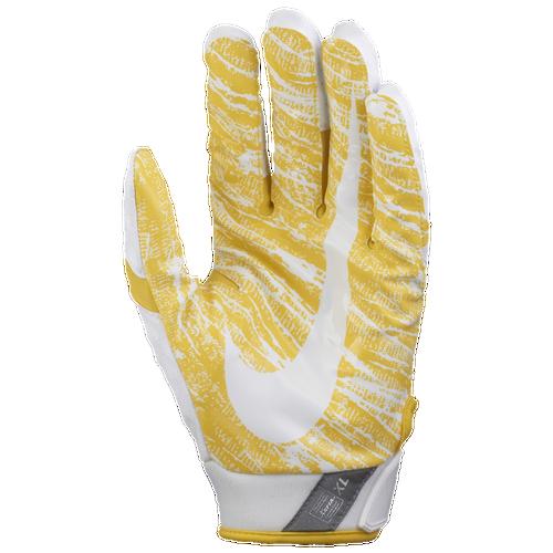 Nike Football Gloves Yellow: Nike Vapor Jet 4.0 Football Gloves