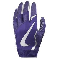 Nike Vapor Jet 4.0 Football Gloves - Men's - Purple / White