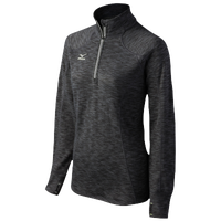 Mizuno Team Elite 9 Half Zip - Women's - Black / Grey