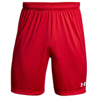 Under Armour Team Golazo 2.0 Shorts - Boys' Grade School - Red / White