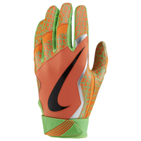 Nike Vapor Jet 4.0 Football Gloves - Men's - Light Green / Orange