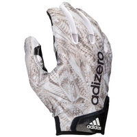 adidas Chromaflague Receiver Gloves - Men's - White / Grey