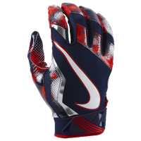 Nike Vapor Jet 4.0 Football Gloves - Men's - Navy / Red