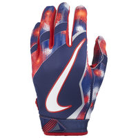 Nike Vapor Jet 4.0 Receiver Gloves - Boys' Grade School - Navy / Red