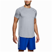 Under Armour MK1 Fitted Short Sleeve Tee - Men's - Grey / Grey