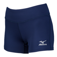 Mizuno Victory Shorts - Women's - Navy / White