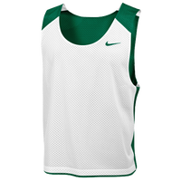 Nike Team Reversible Lacrosse Mesh Tank - Men's - Dark Green / White