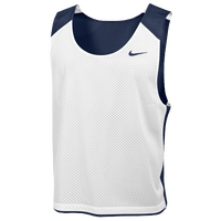 Nike Team Reversible Mesh Tank - Men's - Navy / White