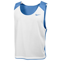 Nike Team Reversible Mesh Tank - Men's - Light Blue / White