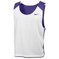 Nike Team Reversible Lacrosse Mesh Tank - Men's - Purple / White