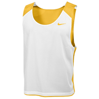 Nike Team Reversible Mesh Tank - Men's - Gold / White