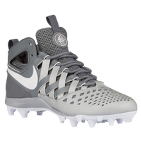 Nike Huarache V Lacrosse - Men's - Grey / White