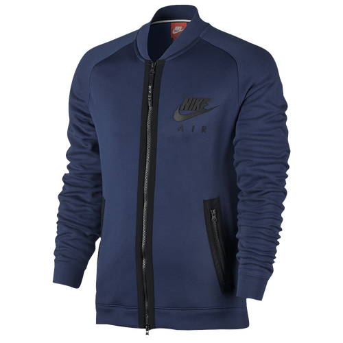 nike max air hybrid varsity jacket men 39 s casual. Black Bedroom Furniture Sets. Home Design Ideas