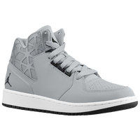 Jordan 1 Flight 3 - Boys' Grade School - Grey / Black