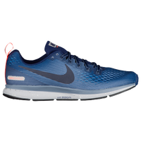 Nike Air Zoom Pegasus 34 Shield - Men's - Navy / Orange
