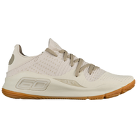 Under Armour Curry 4 Low - Boys' Grade School -  Stephen Curry - Off-White / Off-White