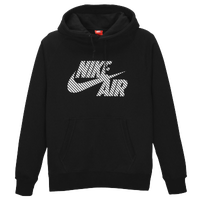 Nike Air Hazard PO Hoodie - Men's - Black / White