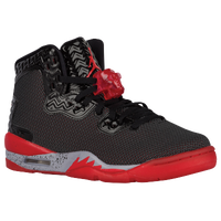 Jordan Air Spike Forty PE - Boys' Grade School - Black / Red