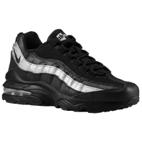 Nike Air Max 95  - Boys' Grade School - Black / Silver