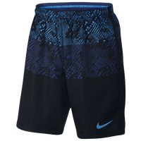 Nike Squad Dry Graphic Shorts - Men's - Black / Navy