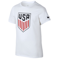 Nike Country Pride T-Shirt - Grade School - USA - White / Navy
