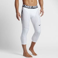 Nike Pro Combat Tight Slider - Men's - White / Black