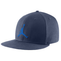 Jordan Jumpman True Fitted Cap - Men's - Navy / Light Blue