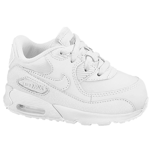 Nike Air Max 90 - Boys' Toddler - White/Wolf Grey
